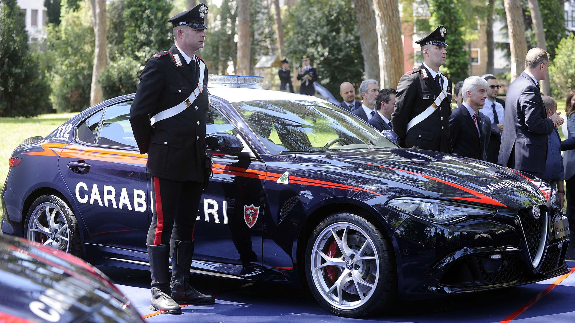 Alfa Romeo Giulia Quadrifoglio Enters Service With The Carabinieri Repair Manual