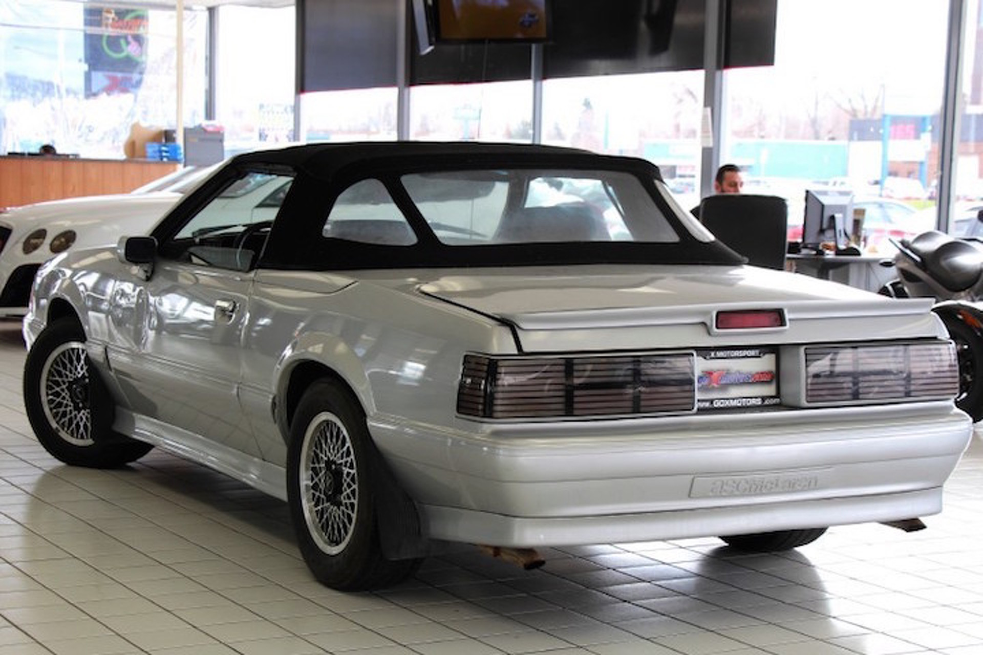 Rare ford mustang asc mclaren has the spirit of the 80s