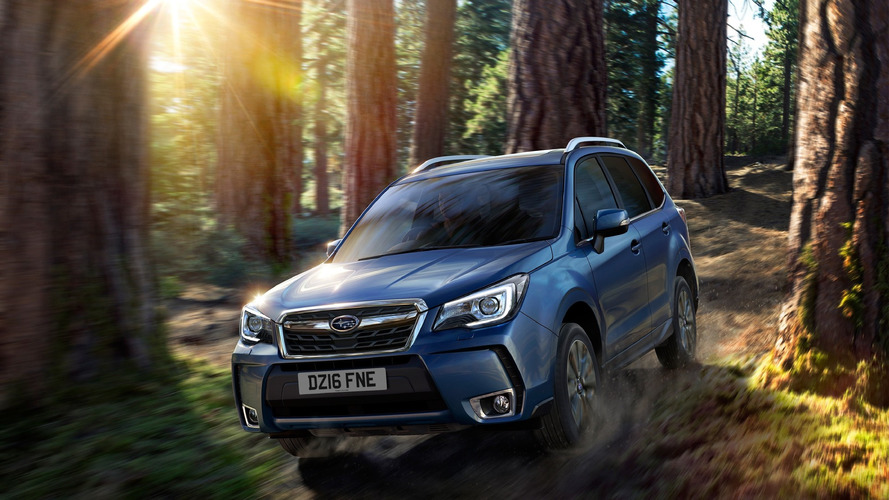 Restyled 2016 Subaru Forester lands in U.K.