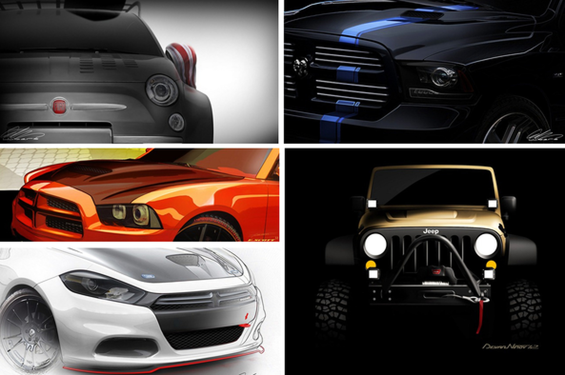 Chrysler and Mopar Preparing 20 Concepts for SEMA 2012