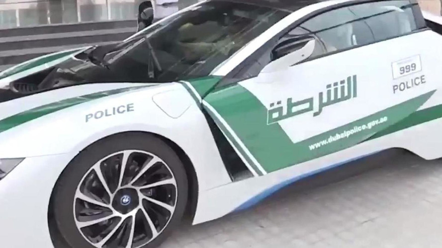 BMW i8 for Dubai Police