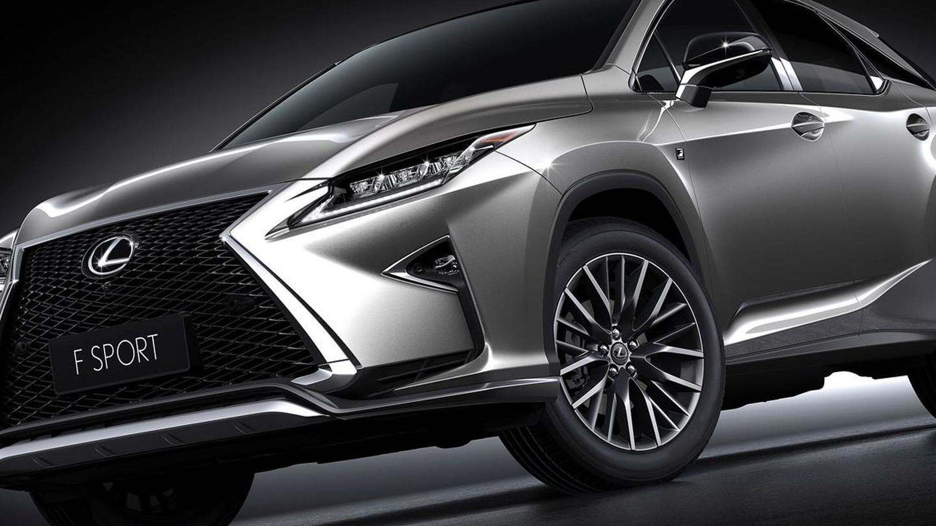 2016 Lexus Rx 200t F Sport Arrives In Shanghai With 2 0 Liter Turbo Engine