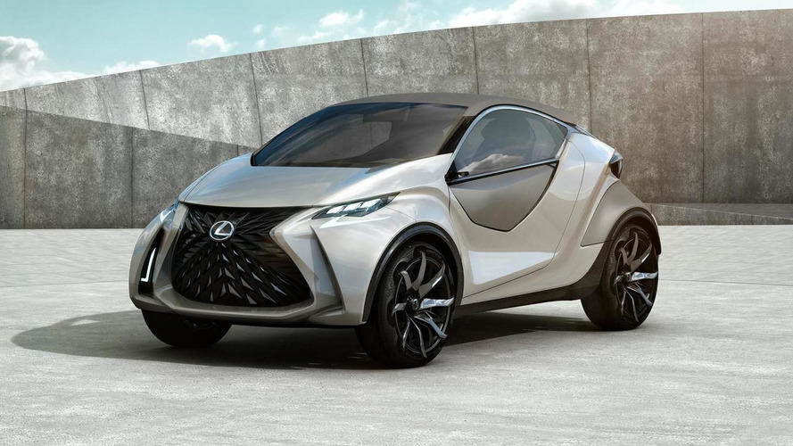 Lexus LF-SA concept shows its quirky styling in Geneva