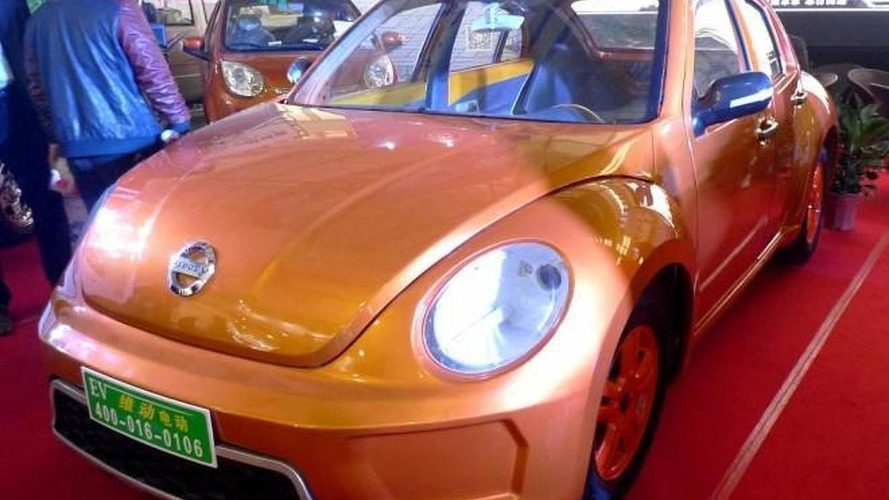 VIDOEV shamelessly copies Volkswagen Beetle but adds rear doors and electric powertrain