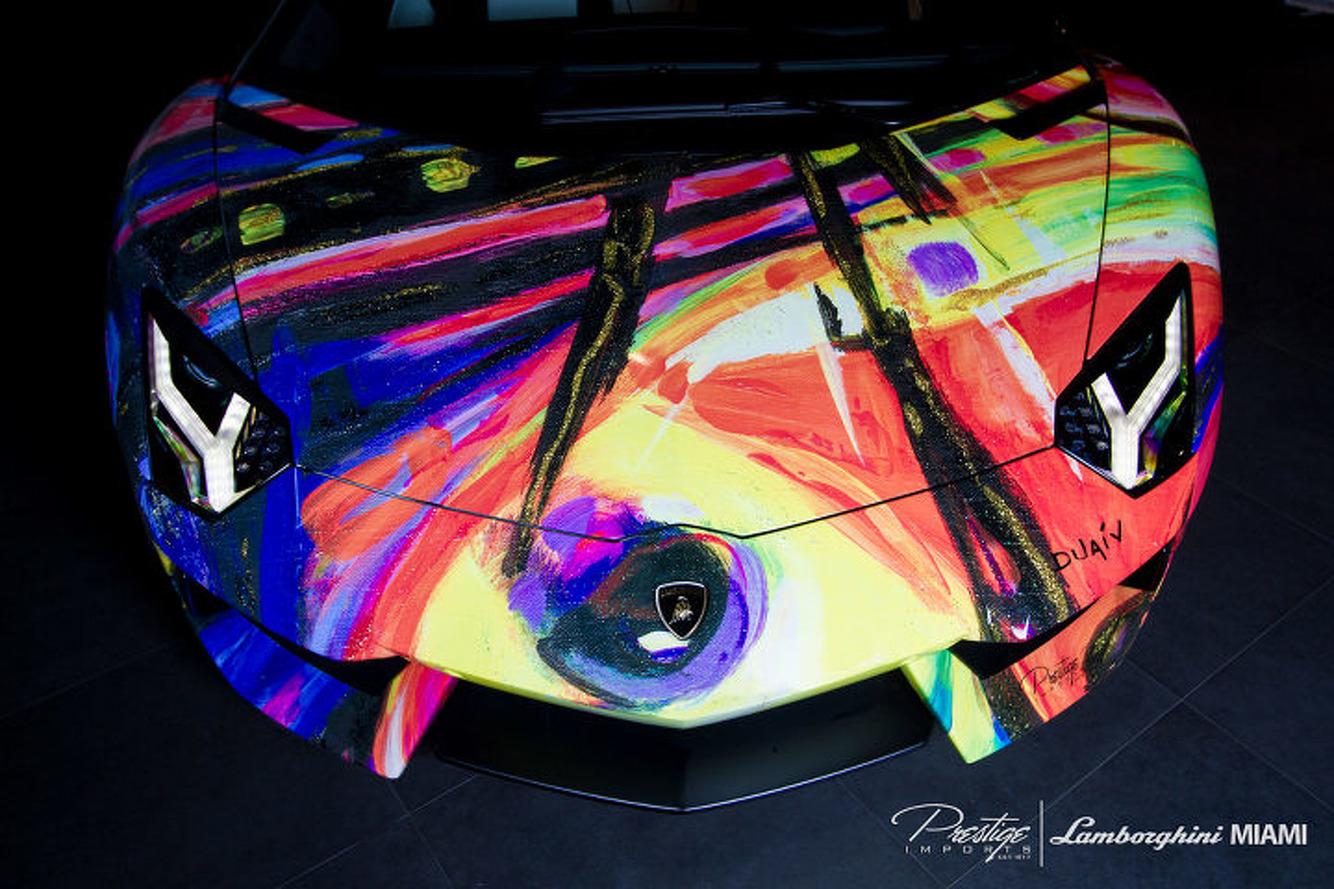This Lamborghini Aventador is Art You Can Drive