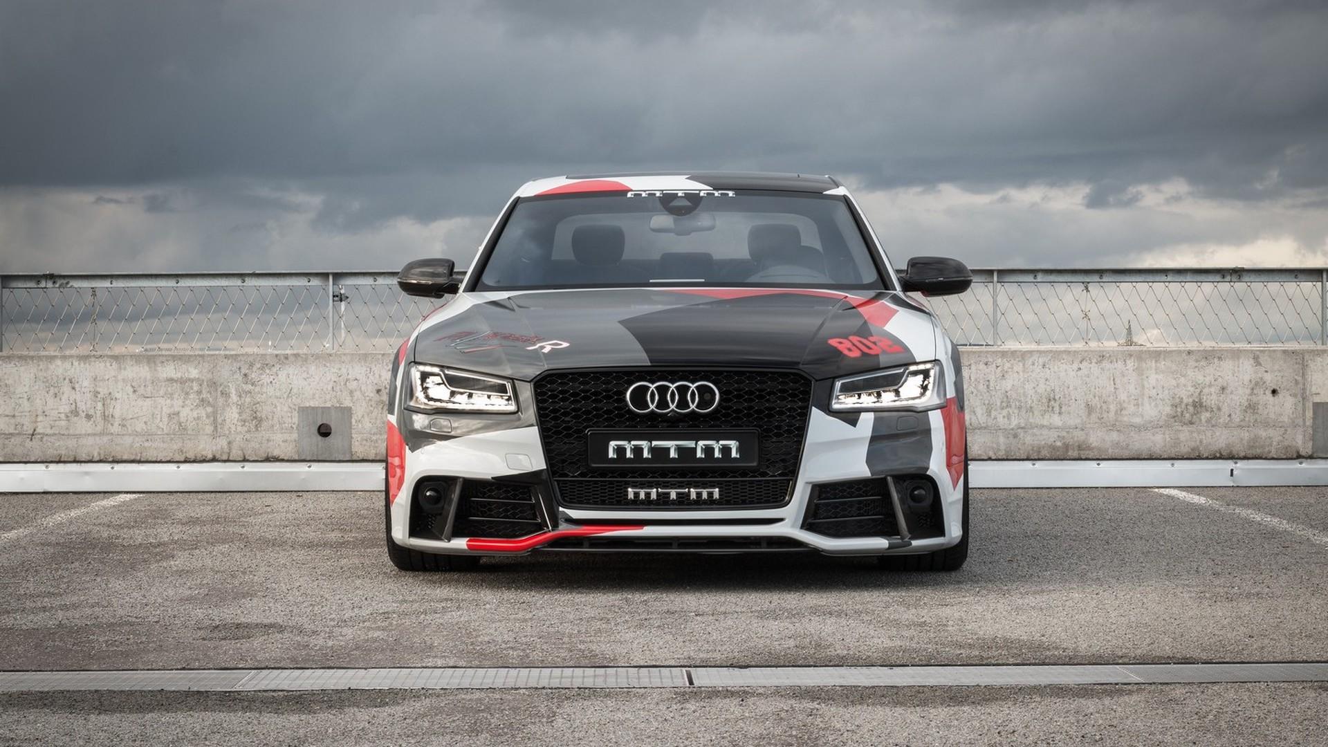 Mtm 802 Hp Audi S8 Talladega R Costs 243k