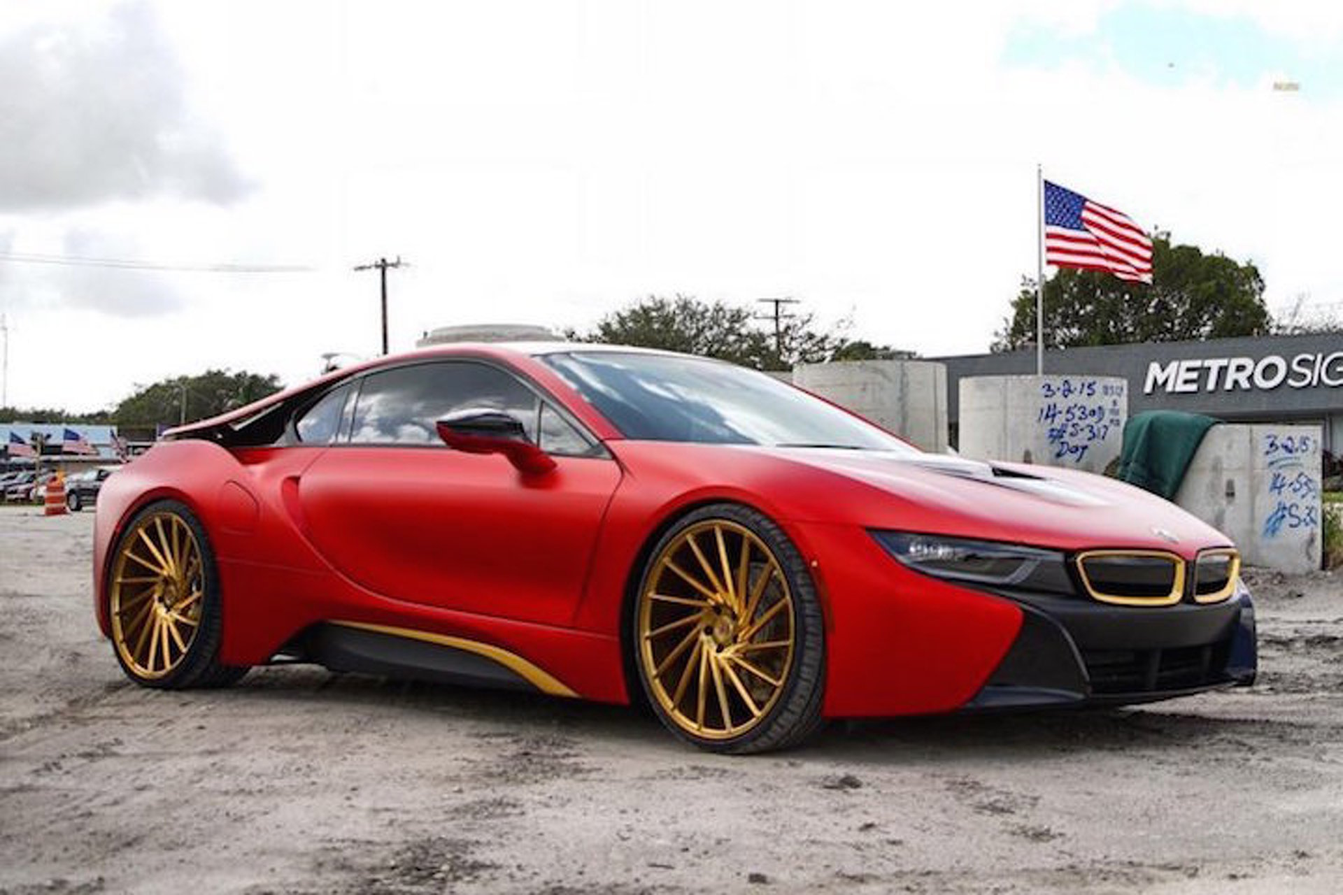 Hot Or Not Austin Mahone Gave His Bmw I8 A Unique Twist Motor1