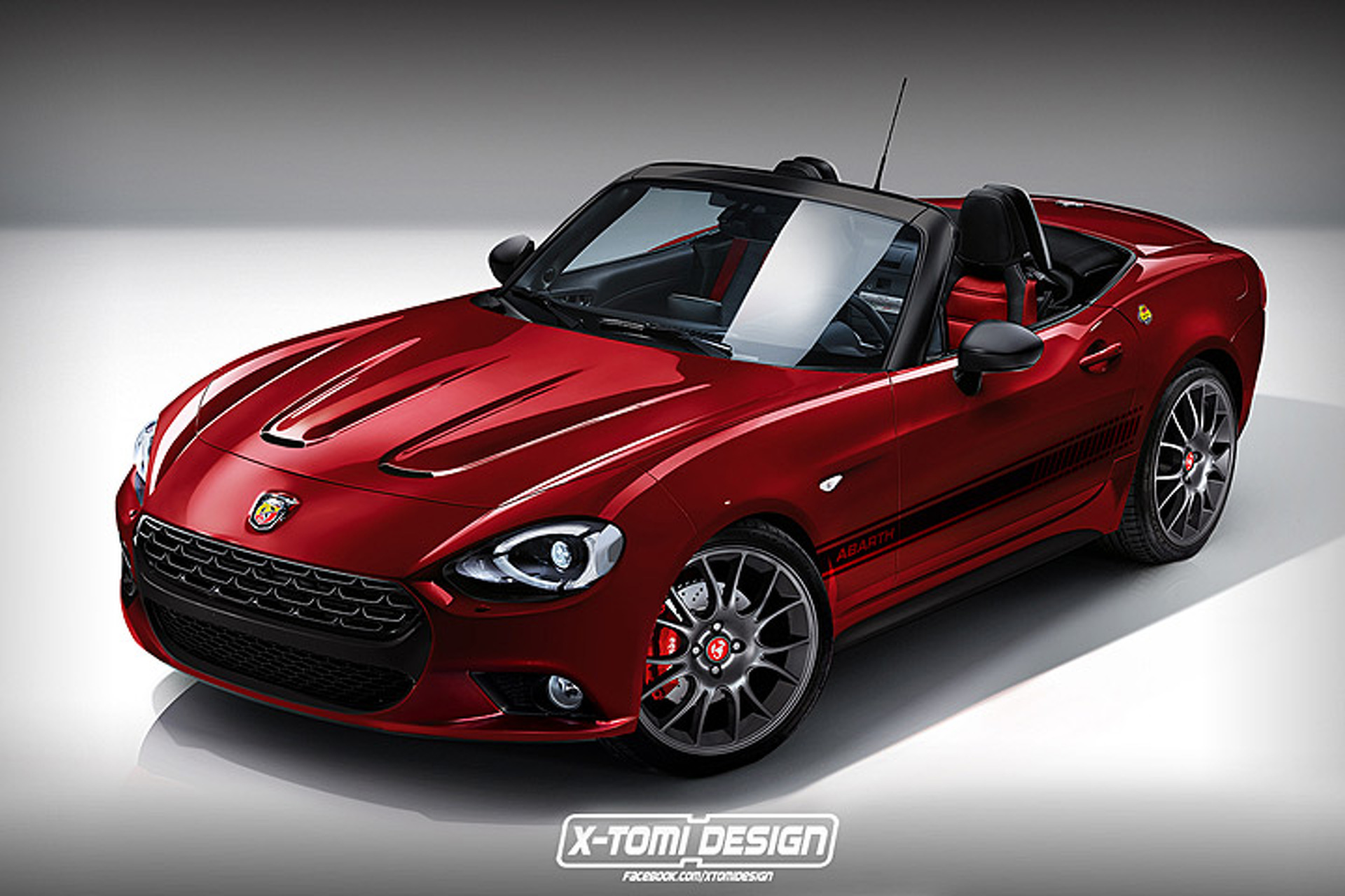 Here S What A Fiat 124 Spider Abarth Could Look Like