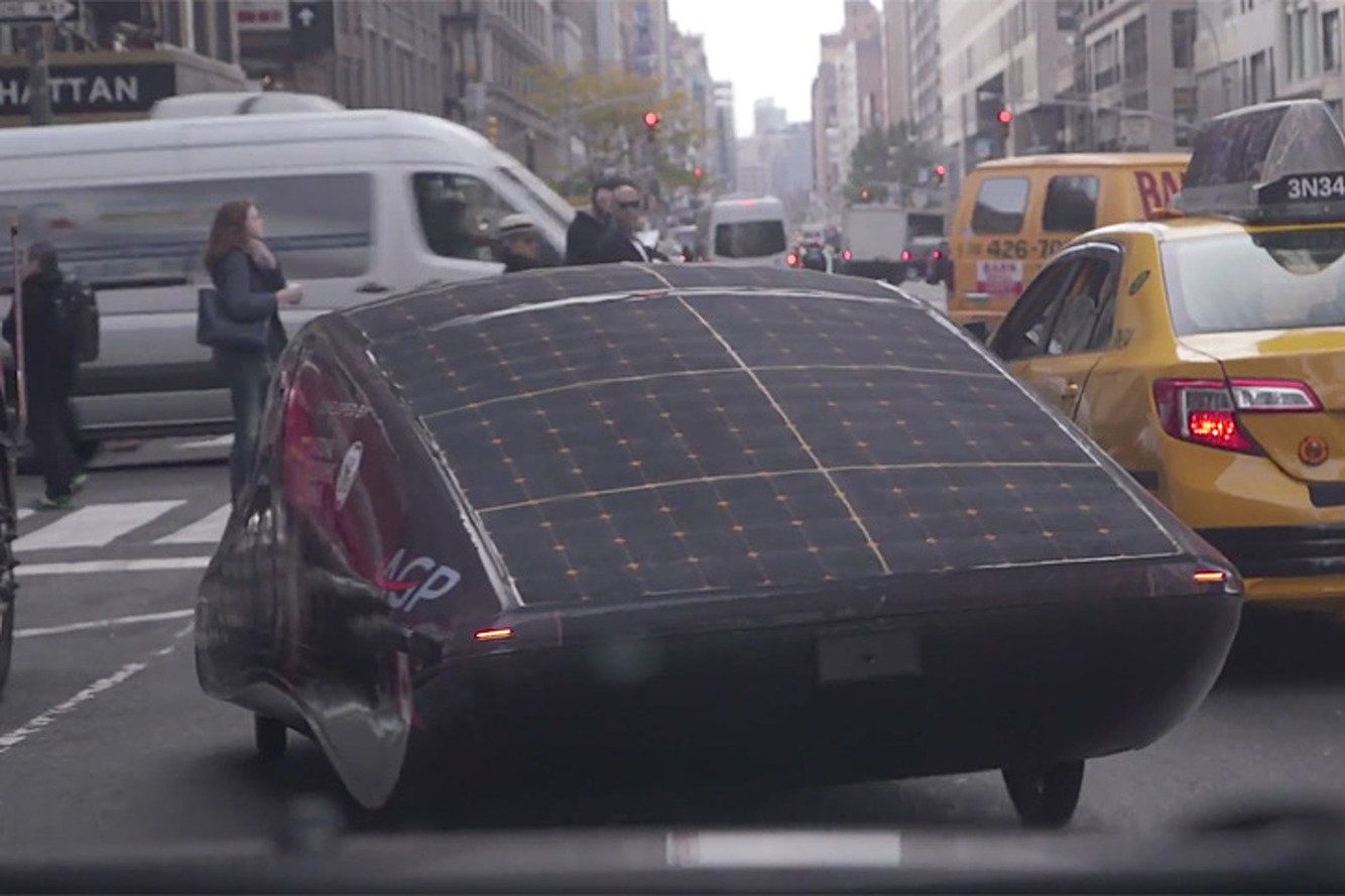 Take a Ride in the University of Calgary's Solar Car