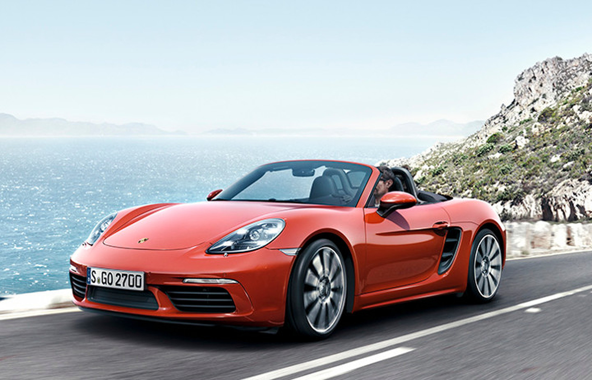 2017 Porsche 718 Boxster: New Numbers, New Look, New Engines