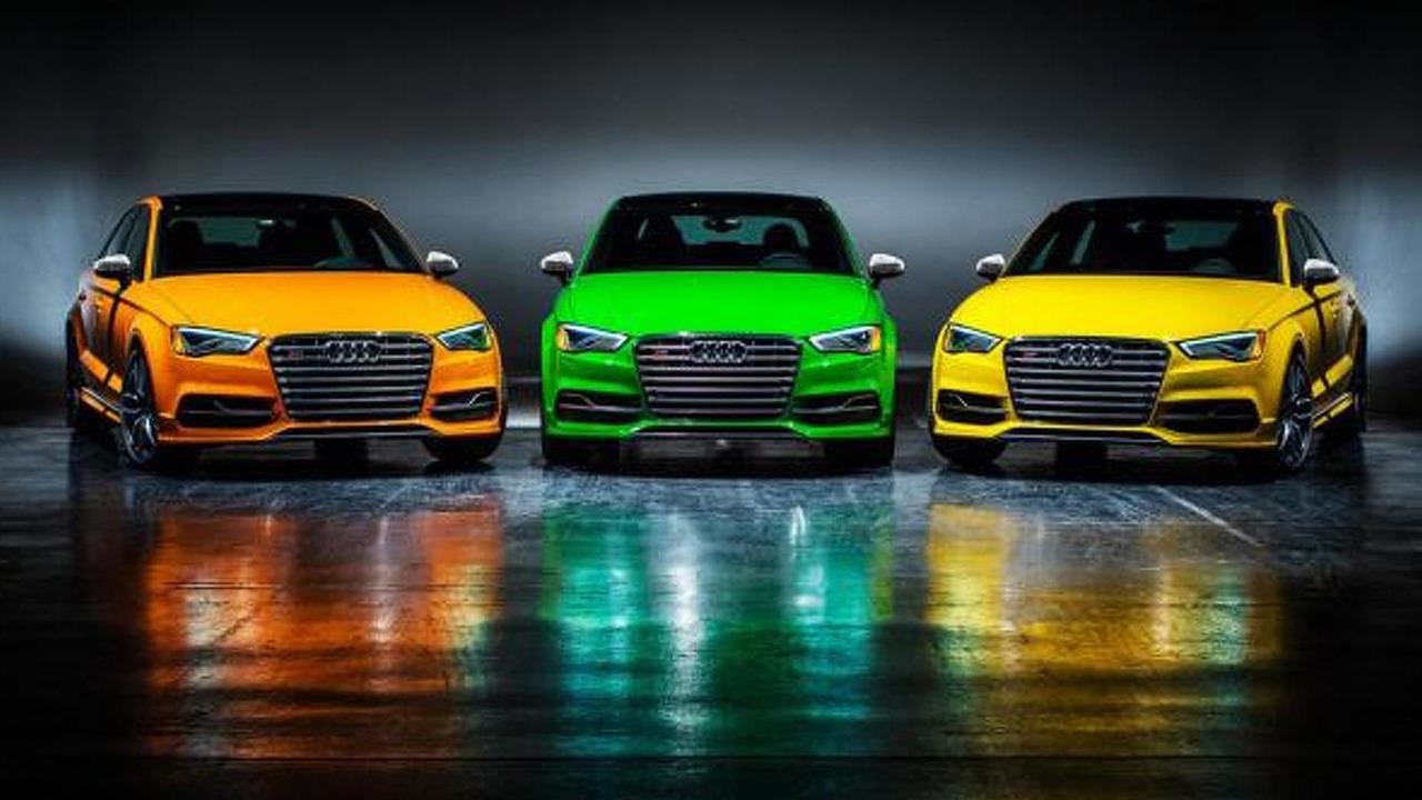 2016 Audi S3 Sedan Exclusive Edition (US-spec)