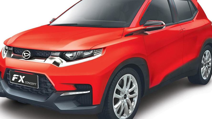 Daihatsu reveals the FX Concept