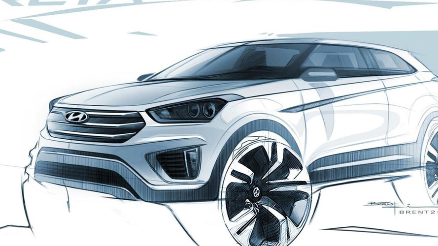 Hyundai Creta official exterior and interior sketches released