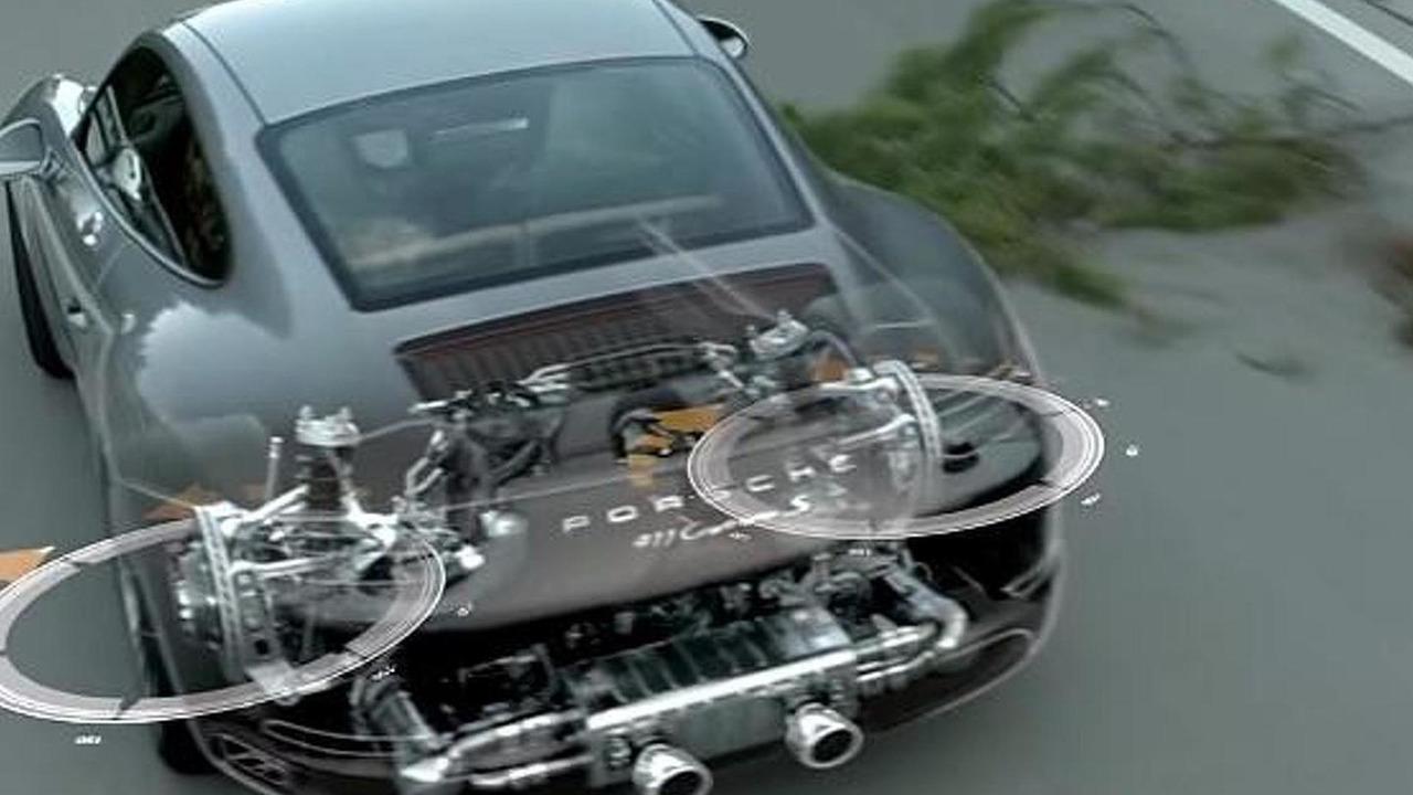 Porsche 911 Carrera rear axle steering