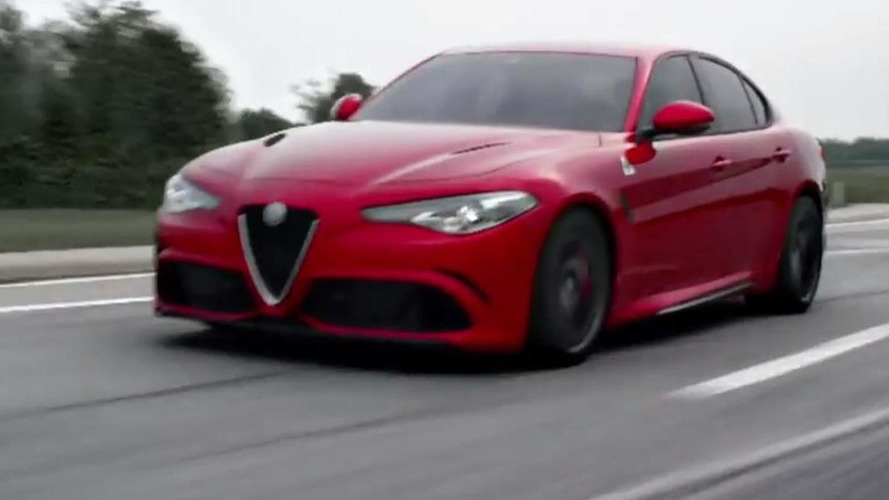 Alfa Romeo Giulia QV roars its 510 PS bi-turbo V6 engine [video]