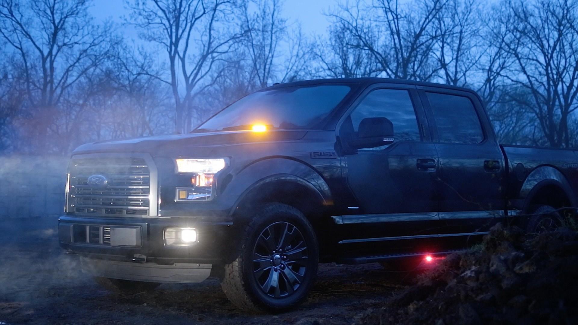 Led Strobe Lights For Trucks >> Ford F 150 Gets Factory Installed Led Strobe Lights For First Time