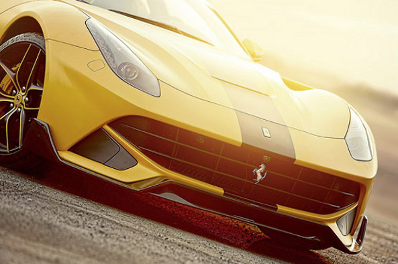 766HP Custom Ferrari Built For Middle East Market