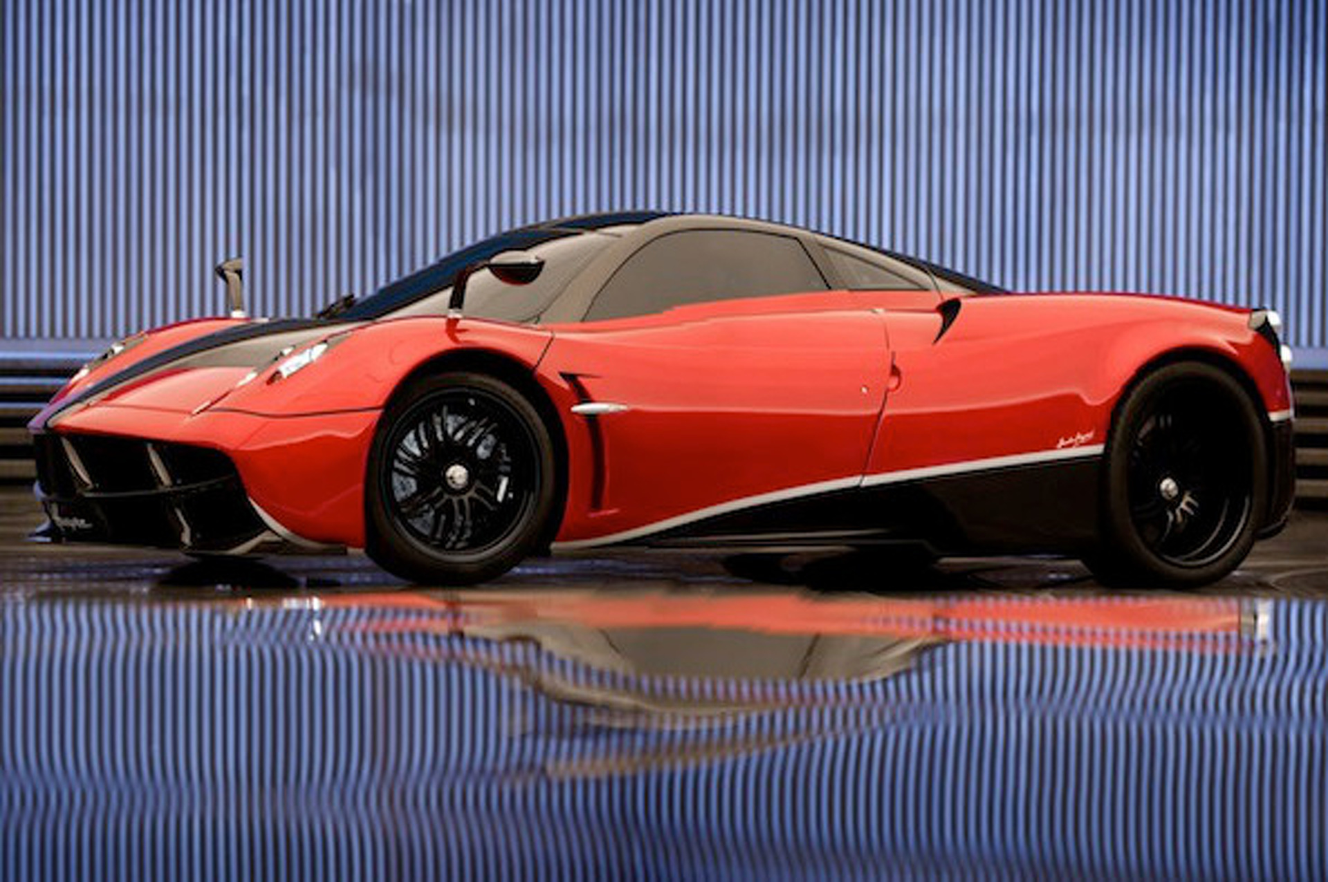 Pagani Huayra Gears Up for Transformers 4 Film