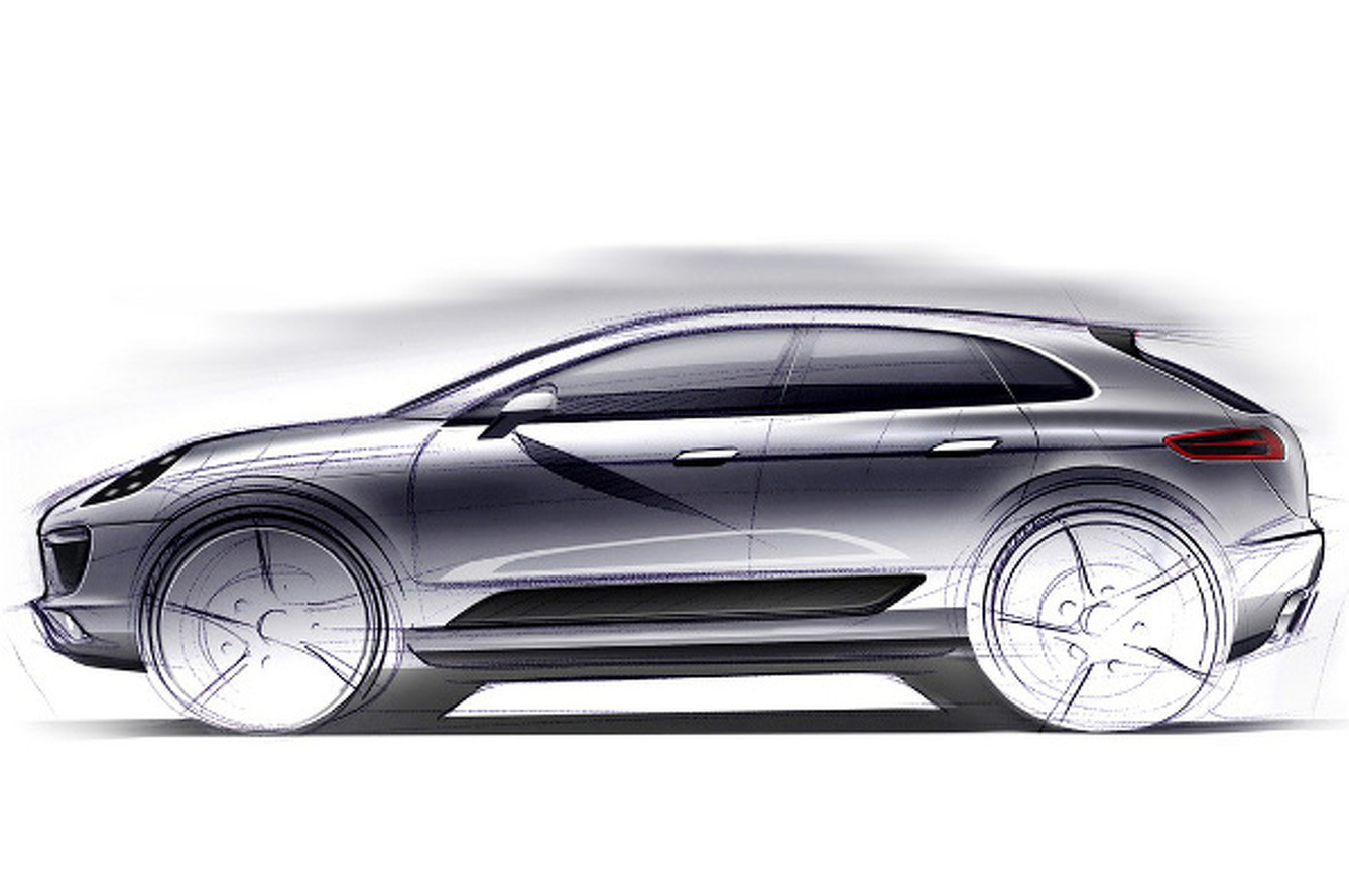 Porsche Macan Small SUV Set For L.A. Debut
