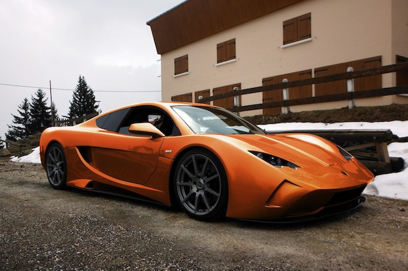 Vencer Readies Sarthe Supercar for UK's Salon Prive