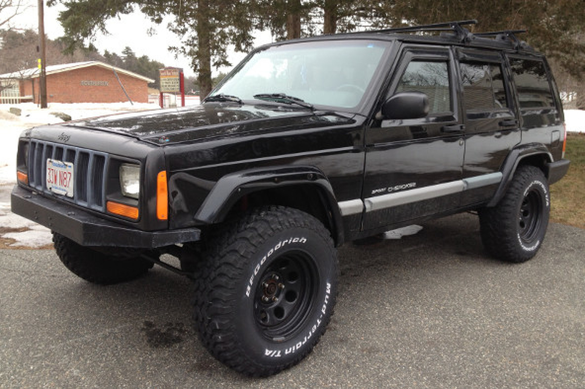 Your Ride 2001 Jeep Cherokee Sport