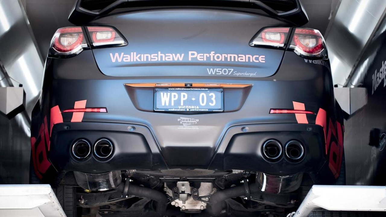 Walkinshaw tunes the HSV GTS to 680 bhp [video]