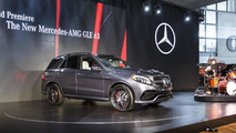 Mercedes GLE live in New York