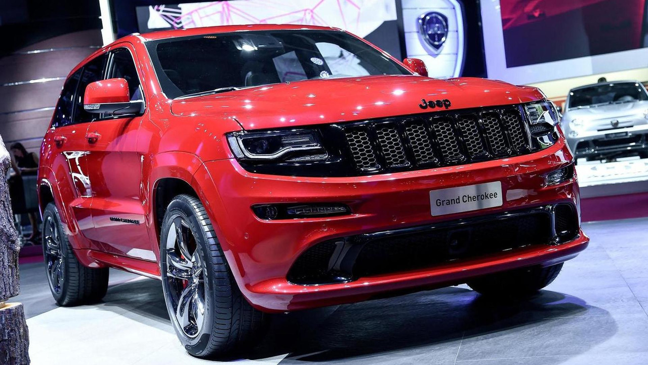 Red vapor jeep