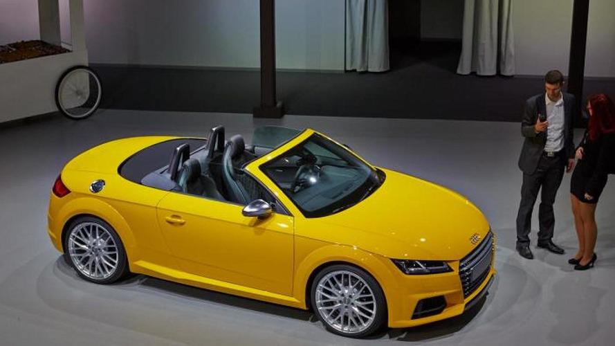 Audi TT & TT S Roadsters unveiled in Paris