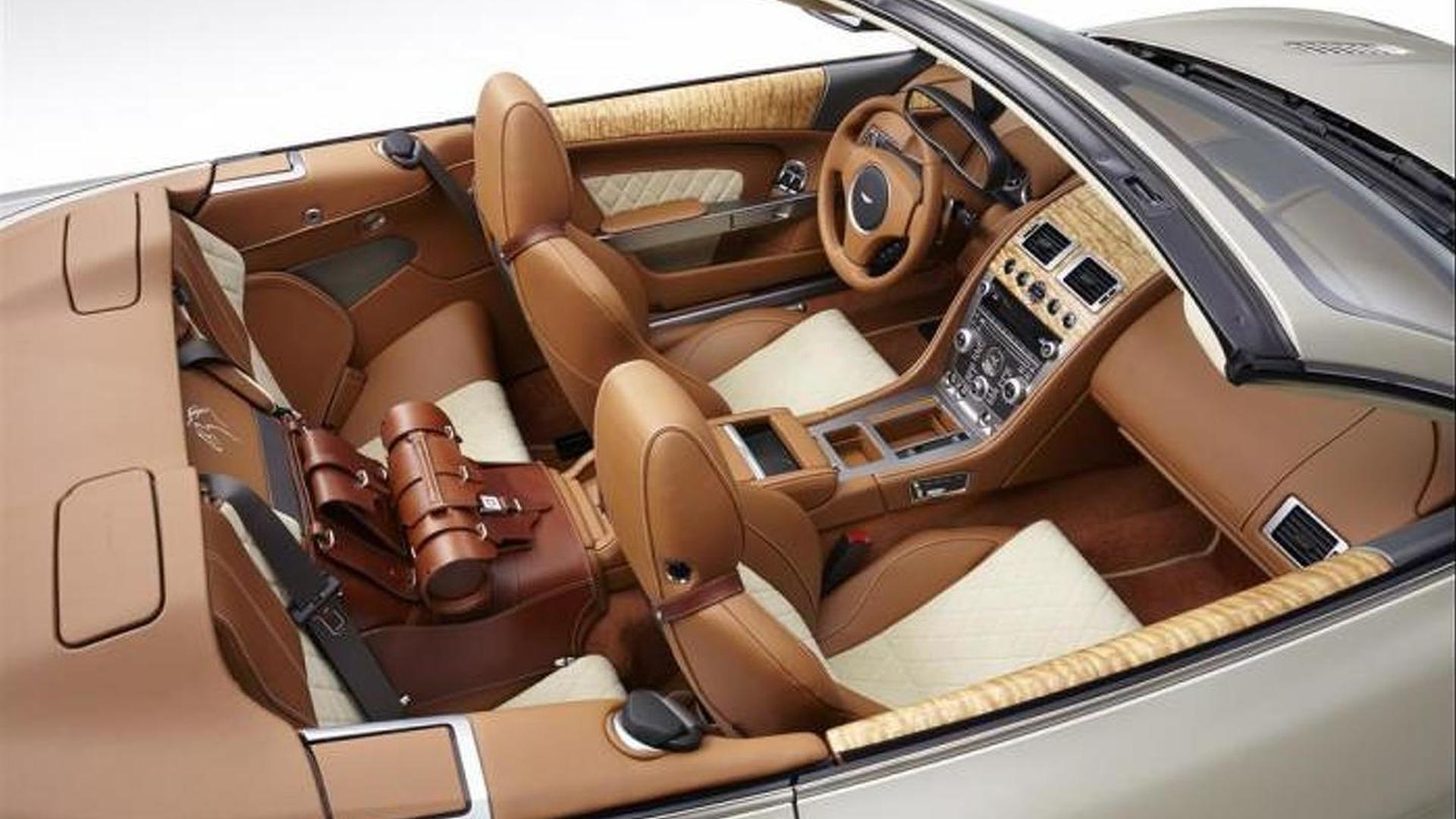 Q By Aston Martin Applies Equestrian Theme On DB Volante - Los gatos aston martin