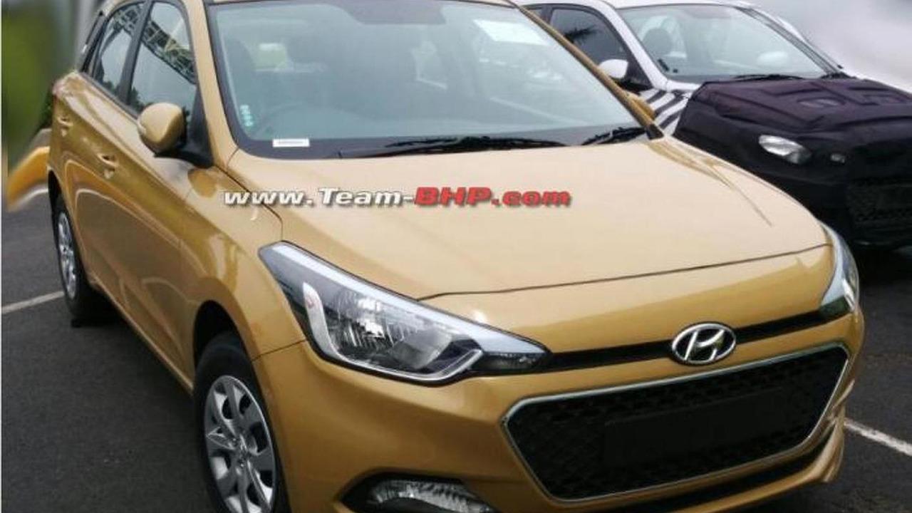2015 Hyundai i20 spy photo / team-bhp.com