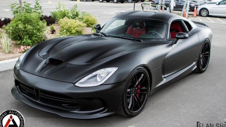 2014 SRT Viper GTS tuned to 700 bhp by Inspired Autosport