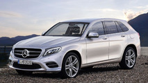 2016 Mercedes GLC rendering