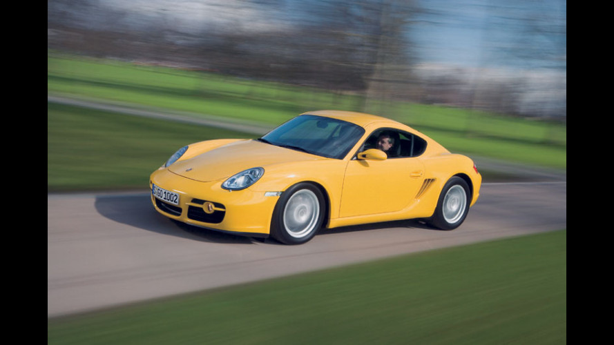 Porsche Cayman: in estate a 50 mila EURO
