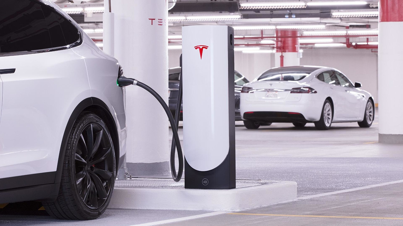 Tesla Urban Supercharger