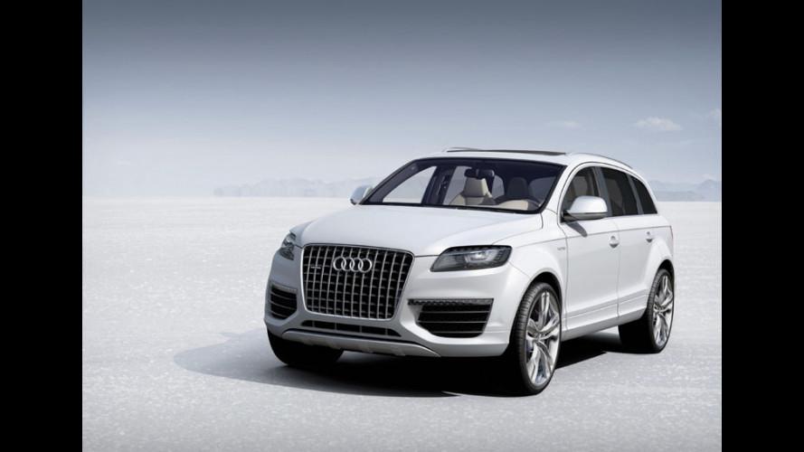 Audi Q7 V12 TDI Bluetec: per gli americani