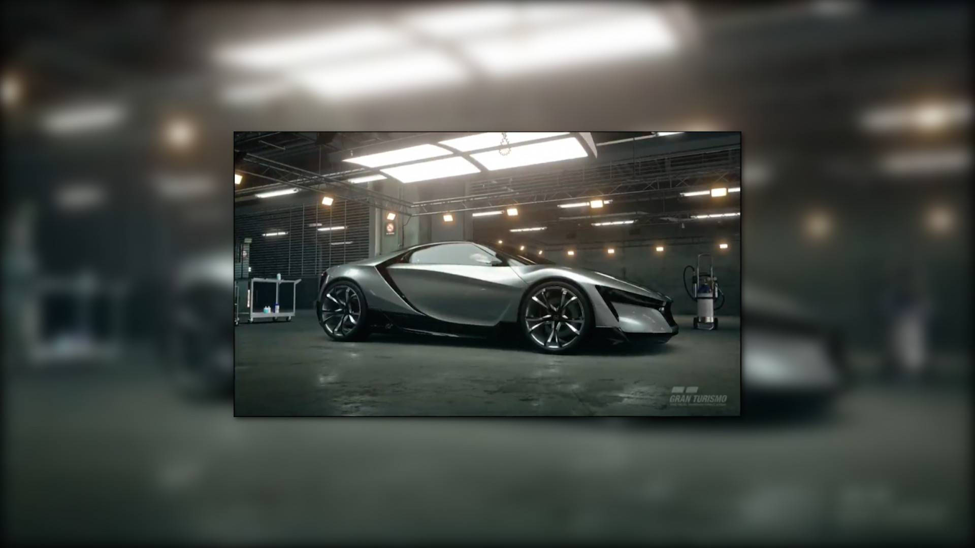 Honda S Baby Nsx Is Actually The Sports Gran Turismo Concept