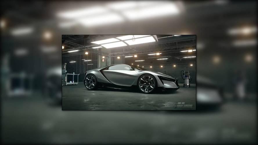 Honda's 'Baby NSX' Is Actually The Sports Gran Turismo Concept
