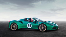Ferrari 488 Spider Green Jewel