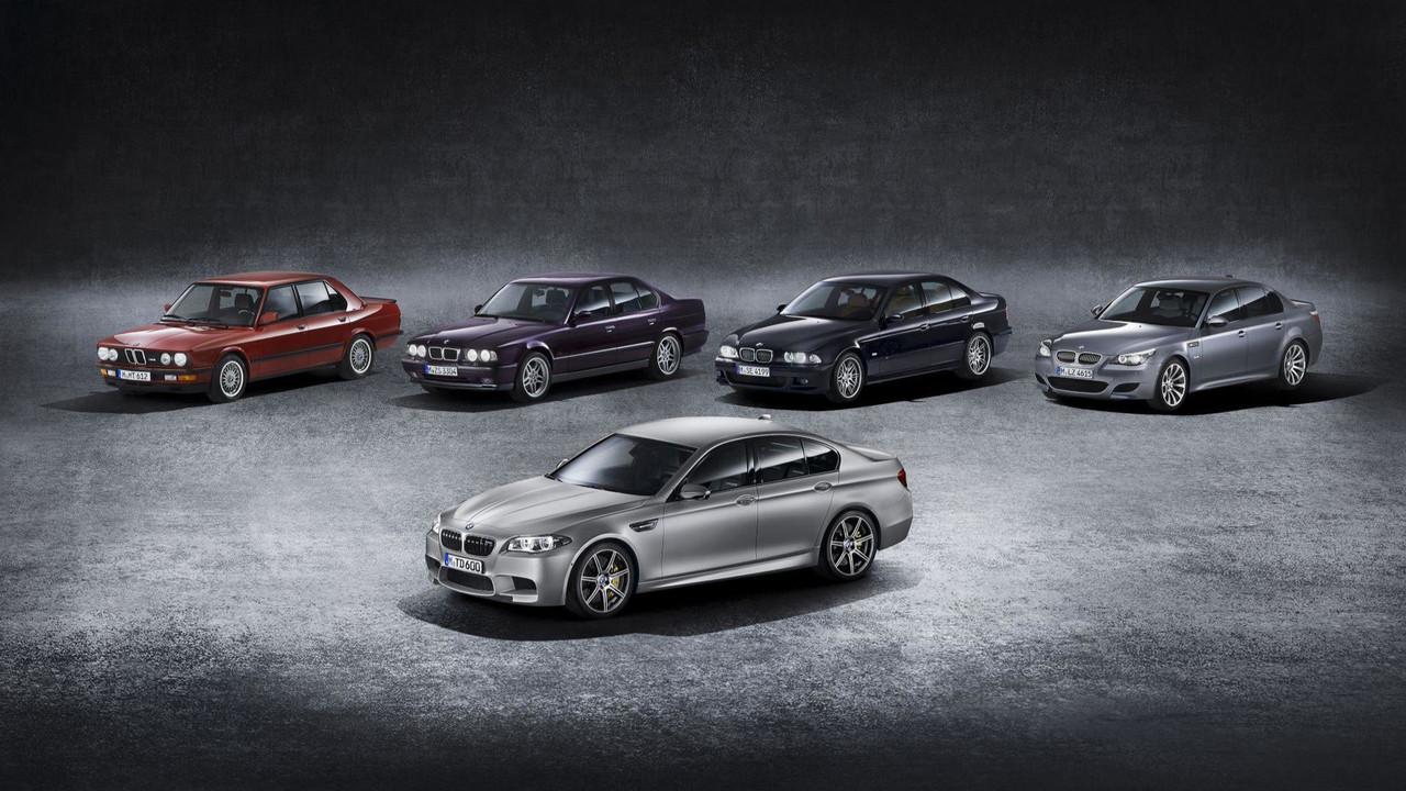 BMW M5 - első öt generáció