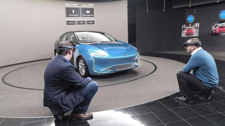 Microsoft HoloLens at Ford