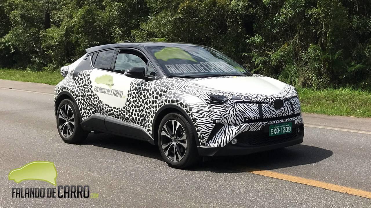 Toyota C-HR - Flagra Falando de Carro