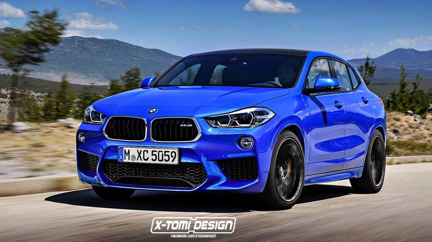 BMW X2 M 2018 Render