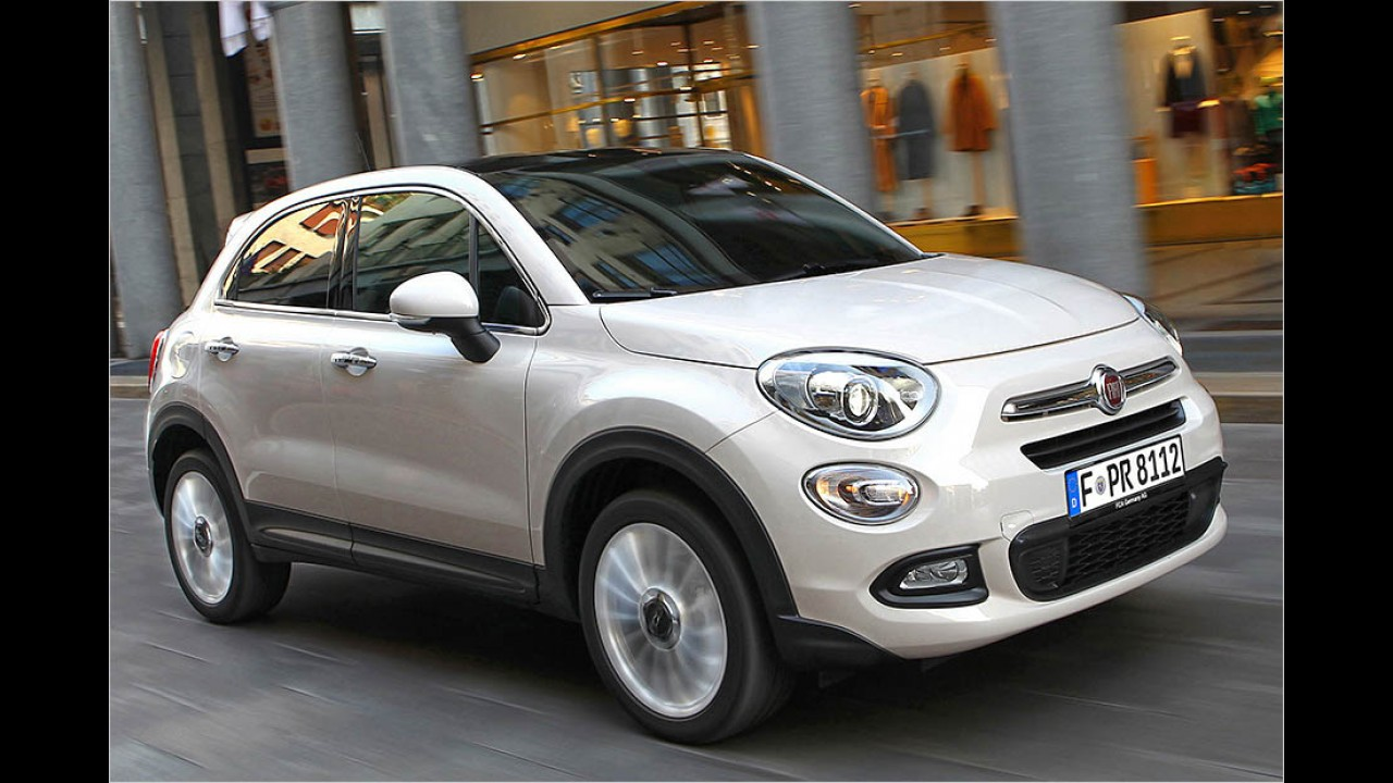 140 PS: Fiat 500X 2.0 Multijet 4x4