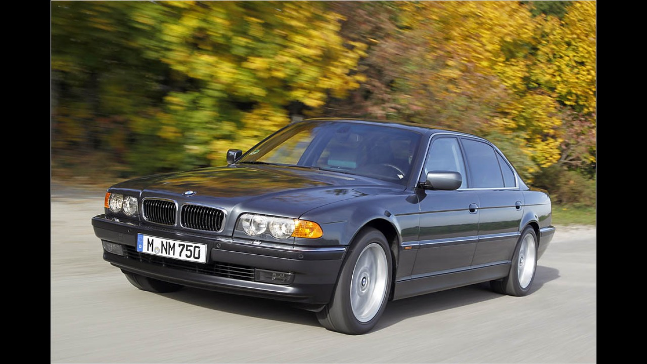 Platz 3: BMW 7er-Reihe (E32/E38)