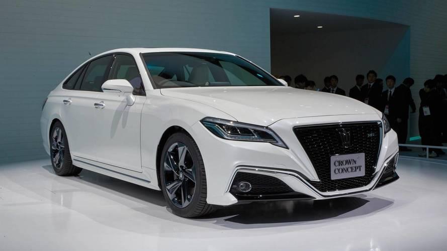 NextGen Toyota Crown Previewed Via Tokyo Motor Show Concept UPDATE - Next auto show