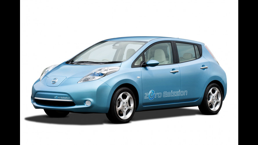 Nissan Leaf negli USA a 32.780 dollari