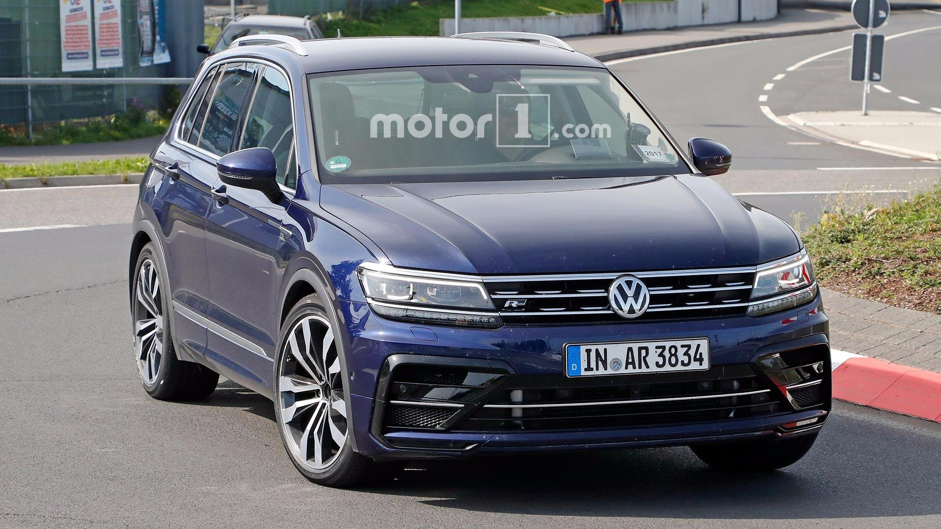 Mystery VW Tiguan R Test Mule Might Actually Be New Audi Q RS - Audi volkswagen