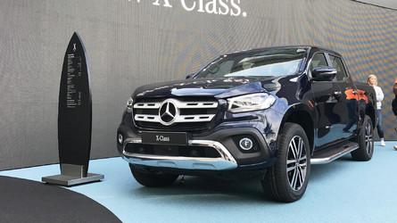 Vídeo - Primeiro contato com a Classe X, inédita picape da Mercedes