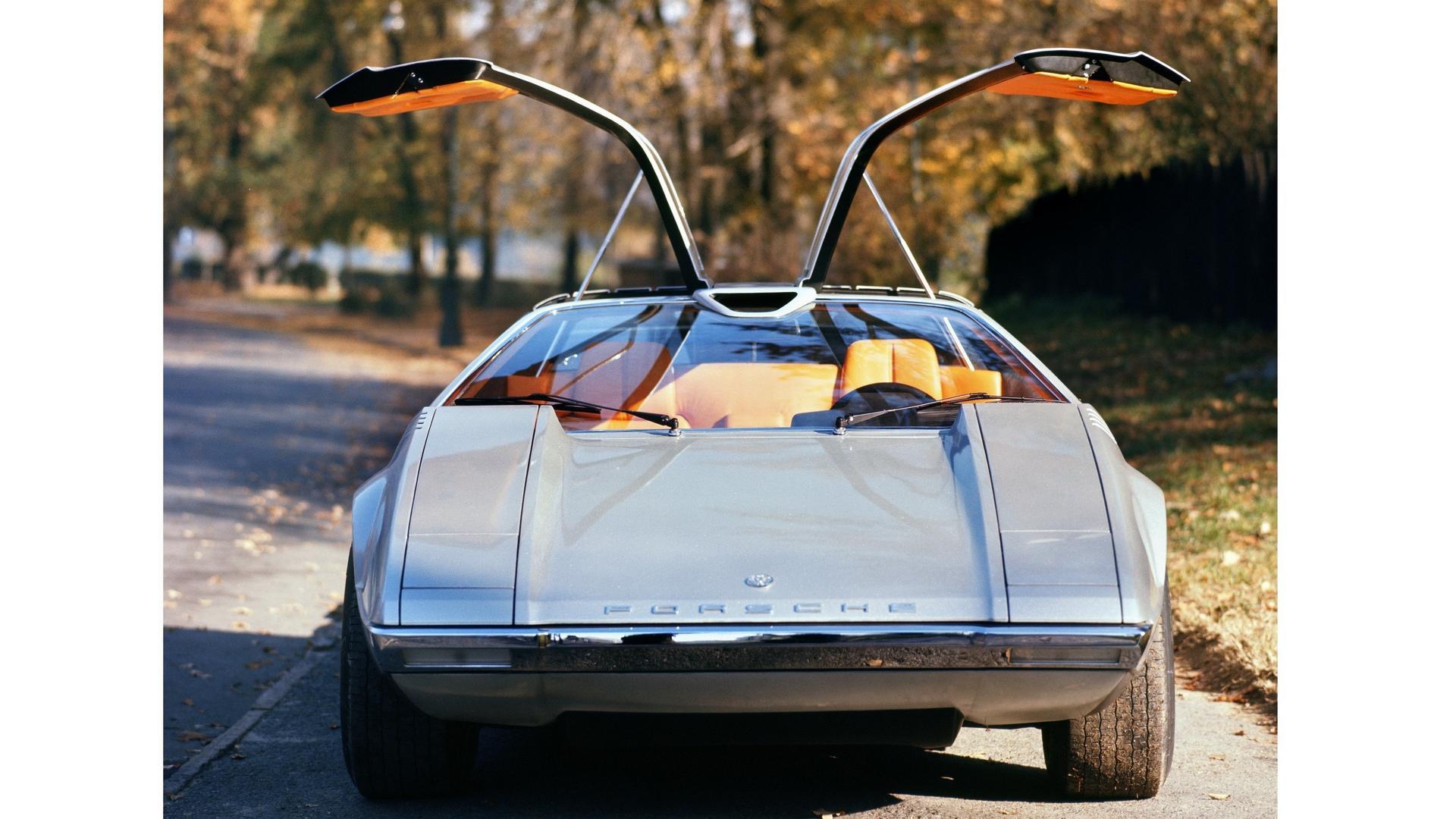 #pha.016308 Photo PORSCHE TAPIRO 1970 CONCEPT-CAR Car Auto